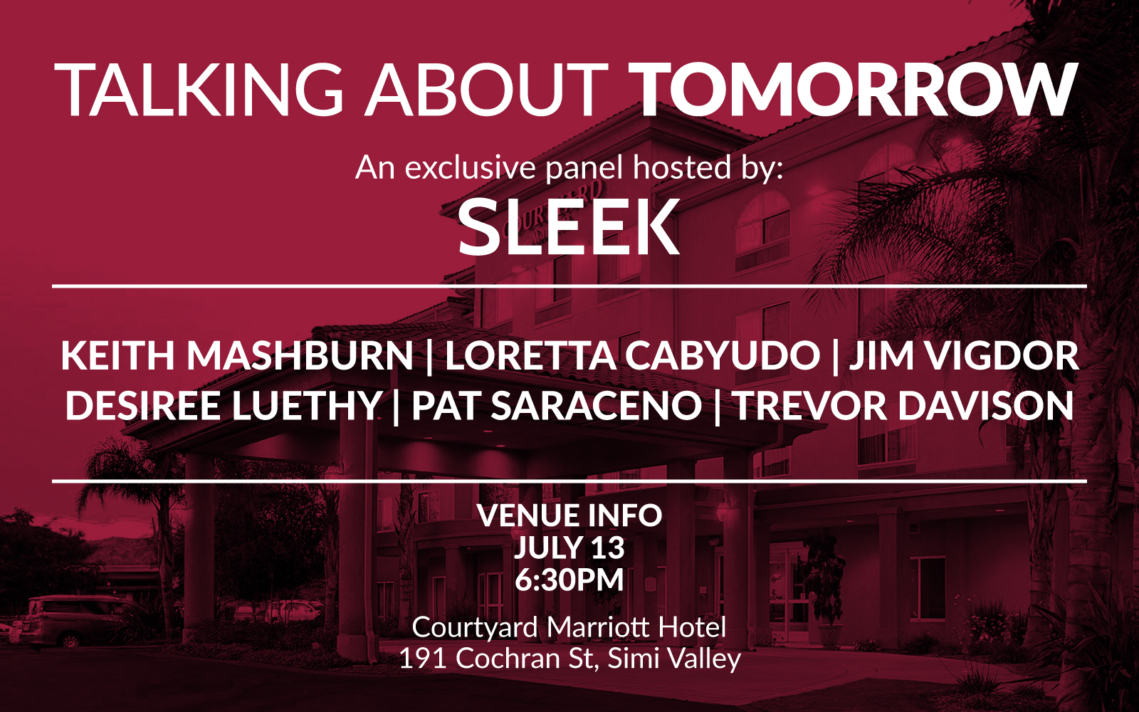 Talking About Tomorrow - With Sleek